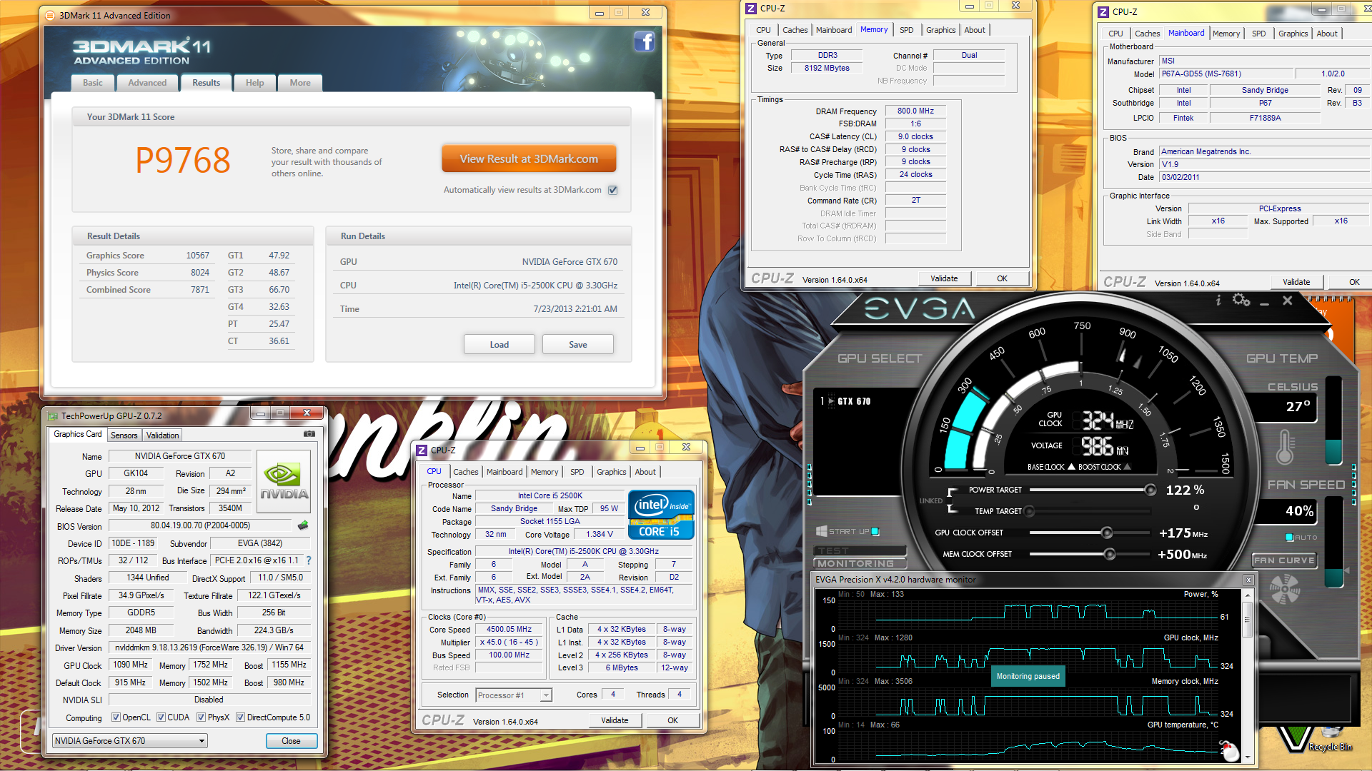 3d mark 11 gtx670 +175 +500@326.19 - 2500k 4500 - 8gb 1600 c9.png