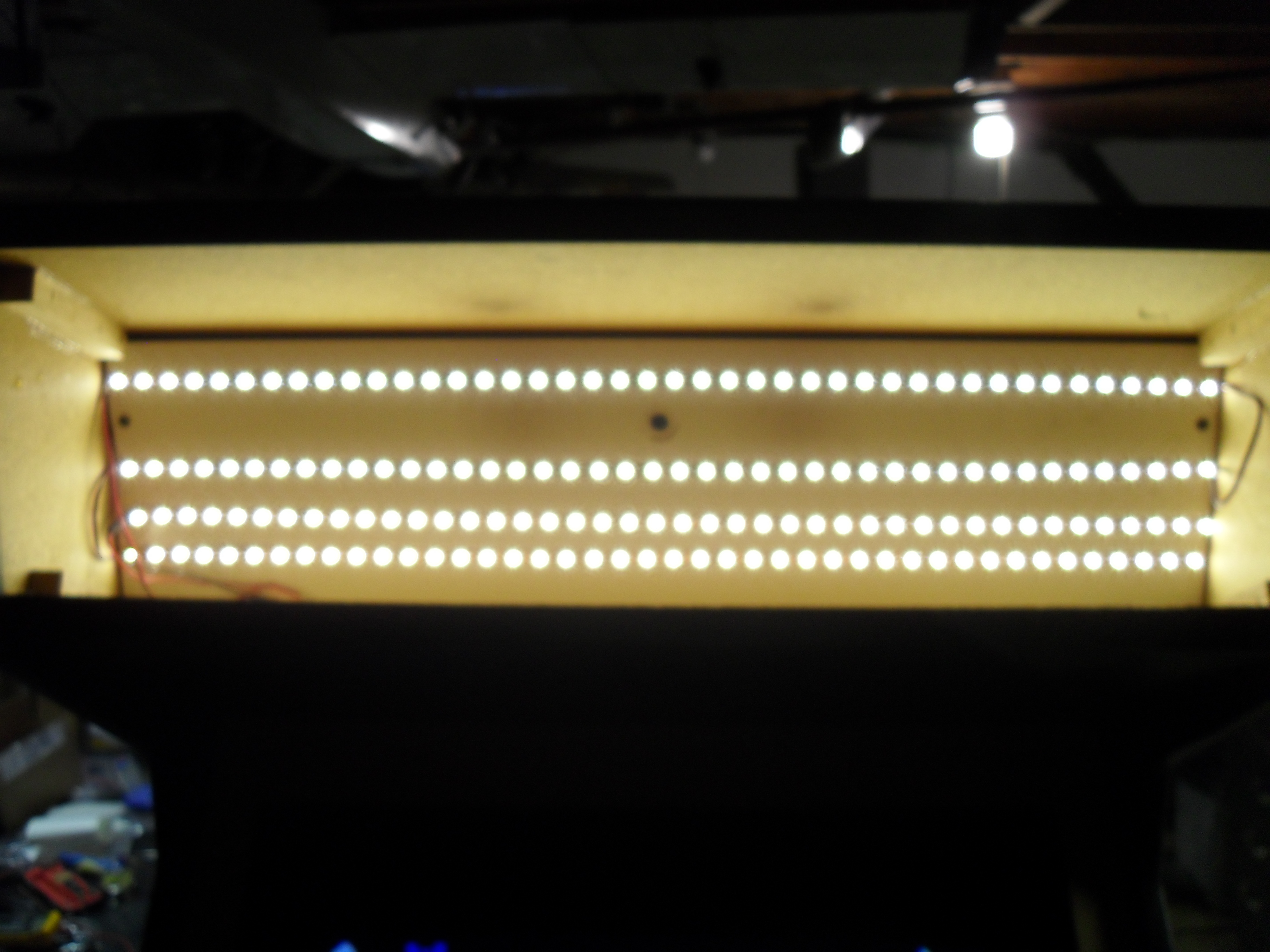 New marquee lighting