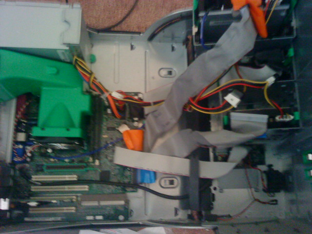 inside of a dell optiplex gx160