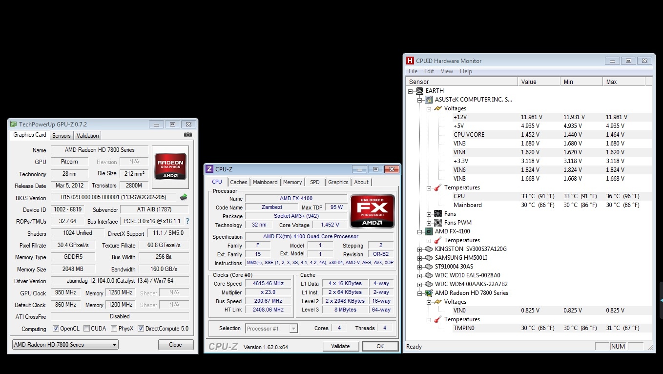 Running rock solid at 4.6 GHz, will try for 4.7 GHz
