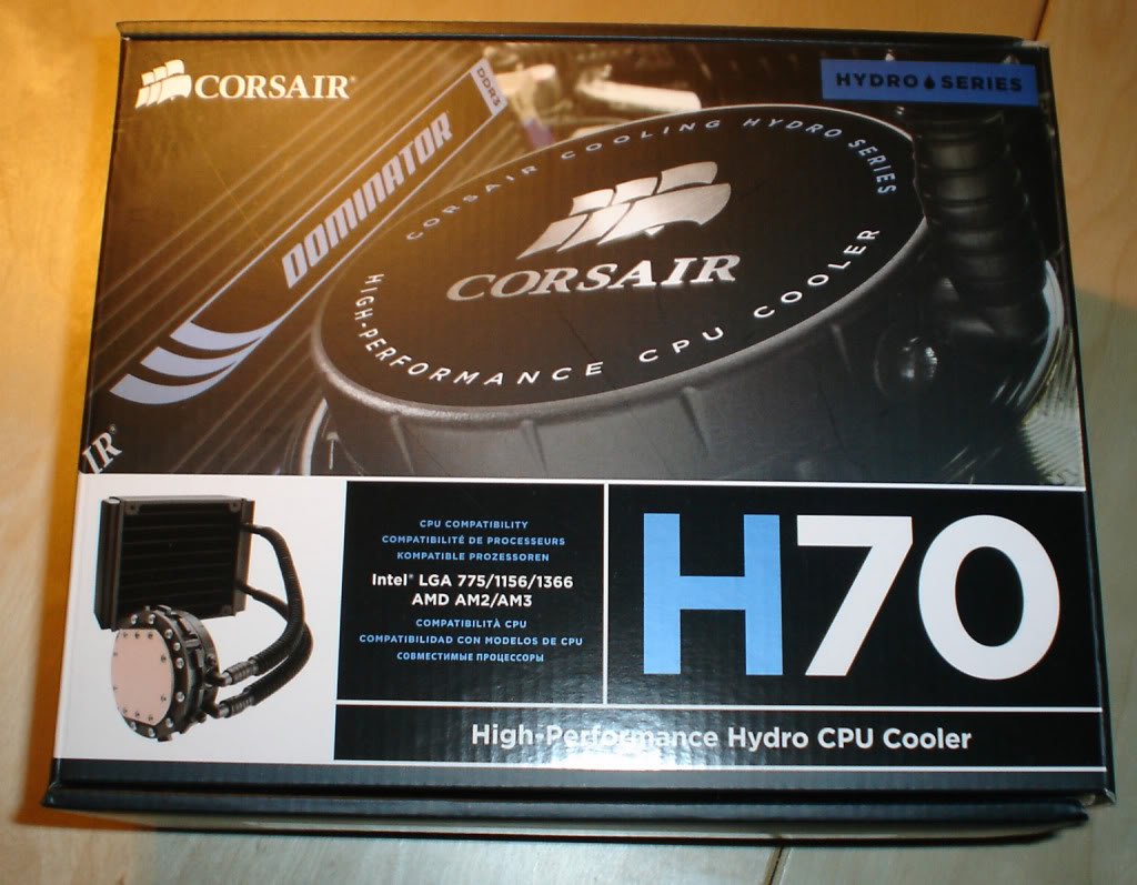 Corsair Hydro Series H70 Core (CW-9060002-WW)