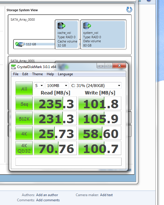 SSD-OS drive and Acceleration drive