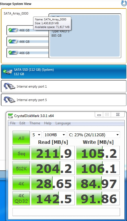SSD-OS only drive