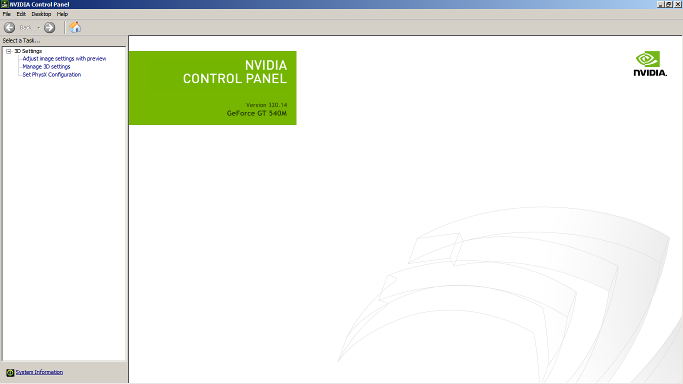 Im missing most of the settings in Nvidia control panel