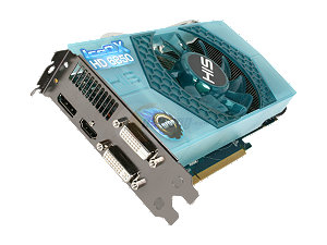 HIS IceQ X Turbo H685QNT1GD Radeon HD 6850 1GB 256-bit GDDR5 PCI Express 2.1 x16 HDCP Ready CrossFireX Support Video Card with Eyefinity