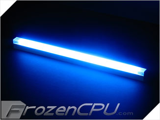 "Logisys 12"" Inverterless True-Color CCFL Light Bar - Frontal 180° Lighting - Blue"