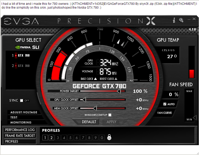 Msi afterburner vs evga precision x1 | How to disable