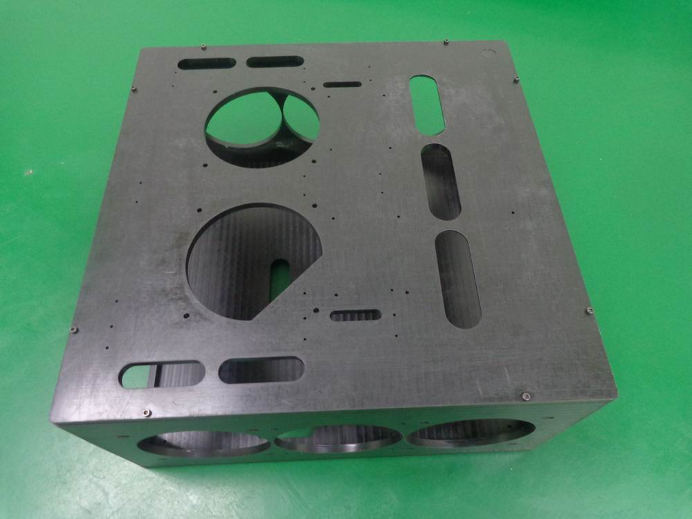 custom/original 8mm acetal cnc machined test bench