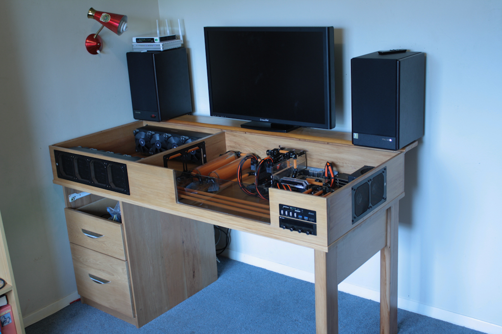 Custom Made Watercooled Desk Build In Progress Page 20 Overclock An Overclocking Community