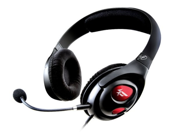 Creative Fatal1ty Gaming Headset (mic on)