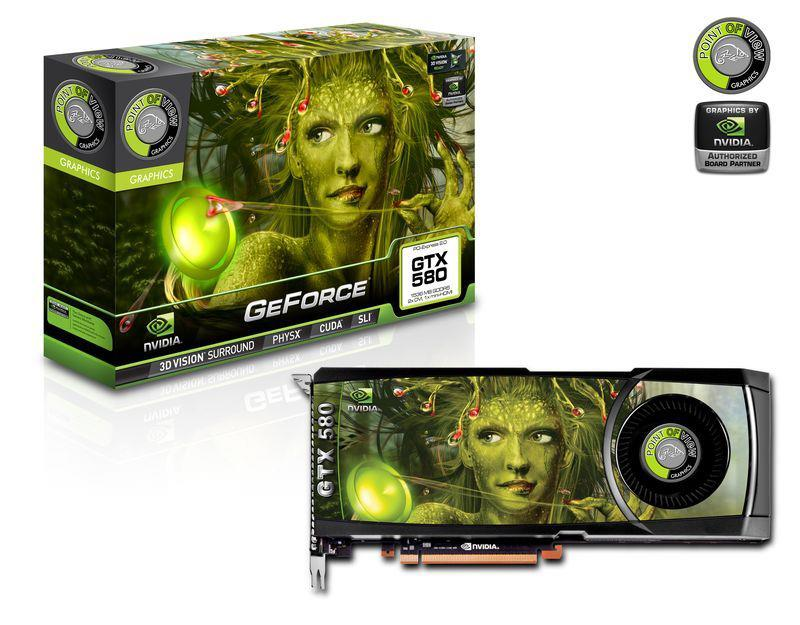 GeForce GTX 580 Points Of View 1.5Gig DDR5