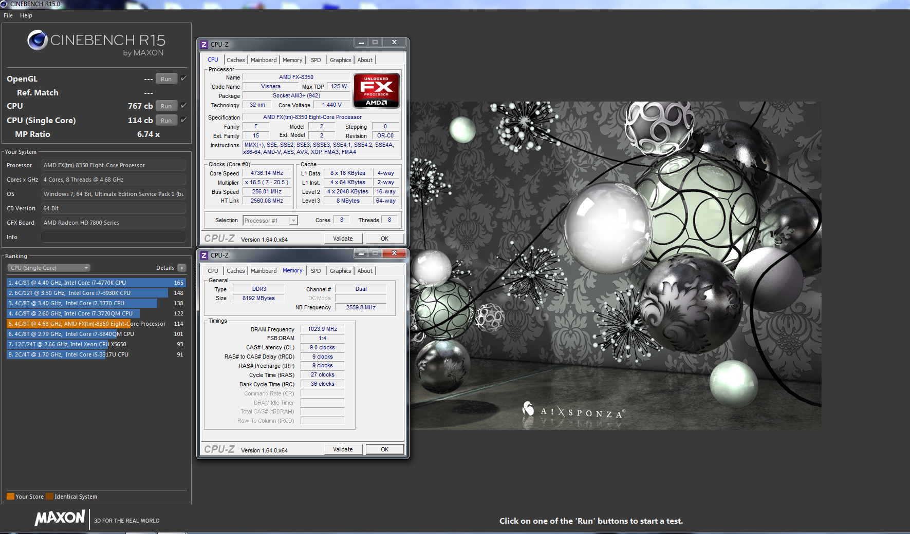 Top CINEBENCH R15 CPU Scores - Page 10 - Overclock net - An