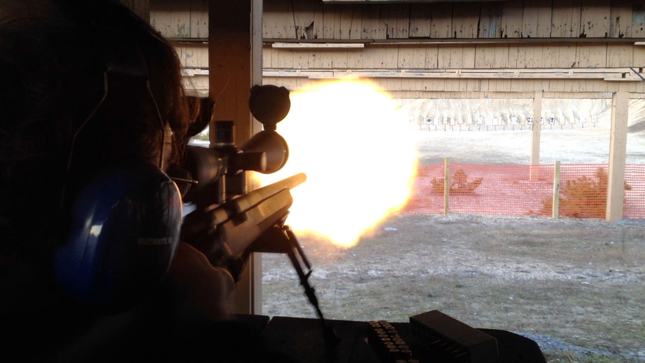 Muzzle Flash II: The Sniper
