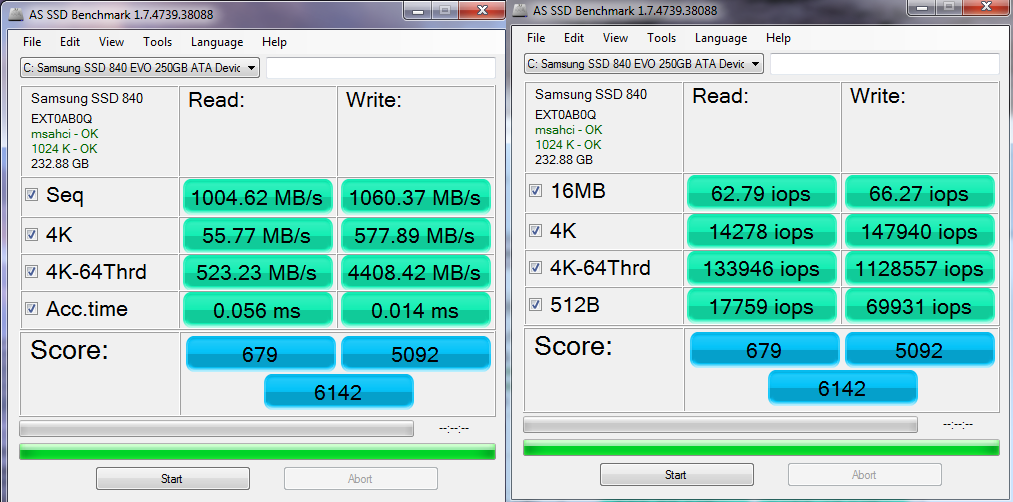 AS SSD Benchmark thread - Page 315 - Overclock net - An