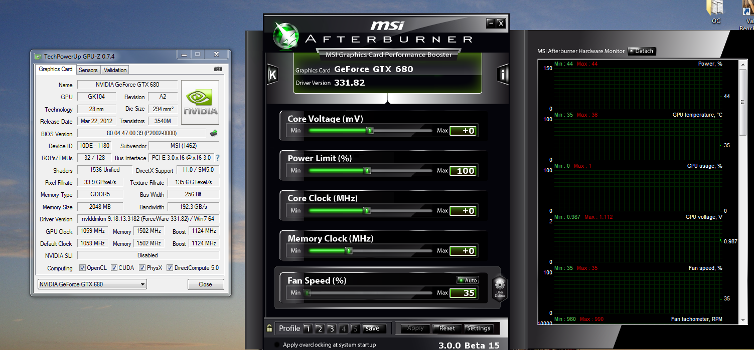 SOLVED] Utterly confused with MSI GTX680 - MSI Afterburner