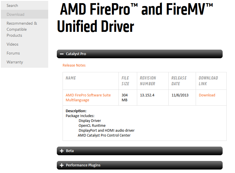 Ati firepro v4800 driver | Download AMD FirePro Unified Driver 15 20