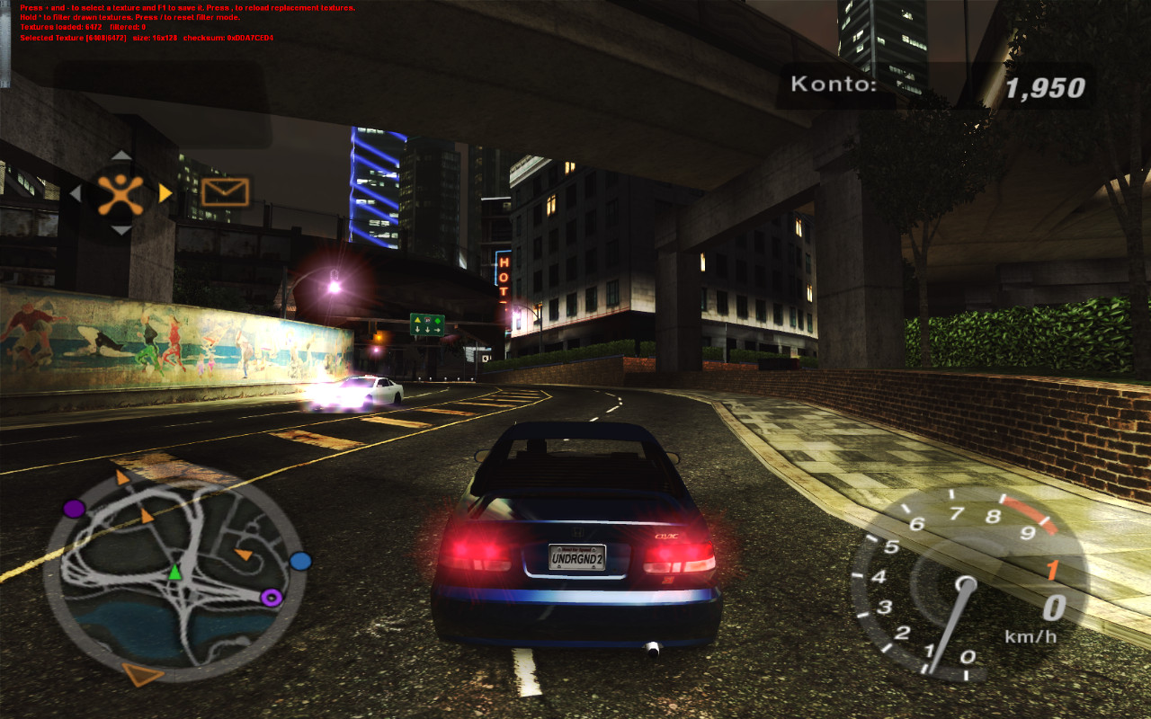 Need for speed underground 2 demo - screenshot #12