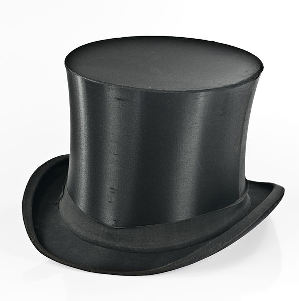File source: //commons.wikimedia.org/wiki/File:Collapsible_top_hat_IMGP9647.jpg