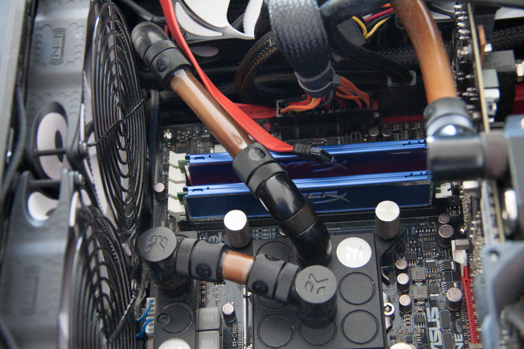 What happens then your tubes incompatible with your Mayhems pastel coolant.