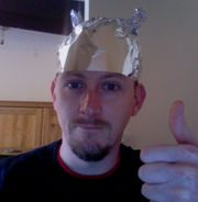 File source: http://rationalwiki.org/wiki/File:Tinfoil_hat.jpg