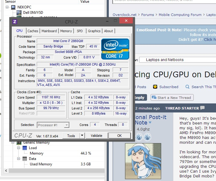 Replacing CPU/GPU on Dell Precision - Overclock net - An