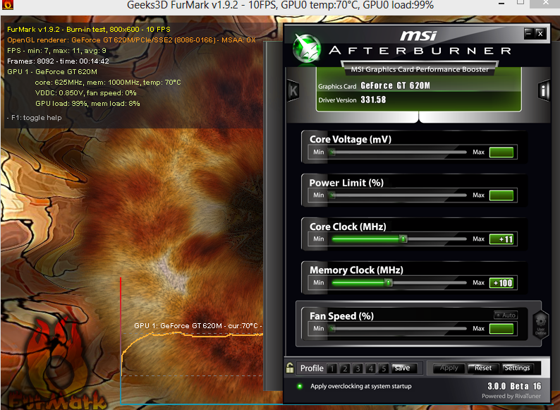 MSI Afterburner can't change the core clock  - Overclock net - An