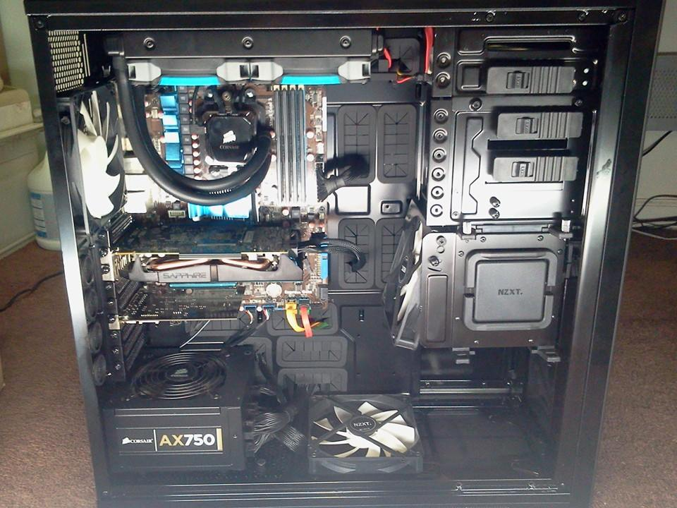 NZXT Switch 810 with my stuff in it.