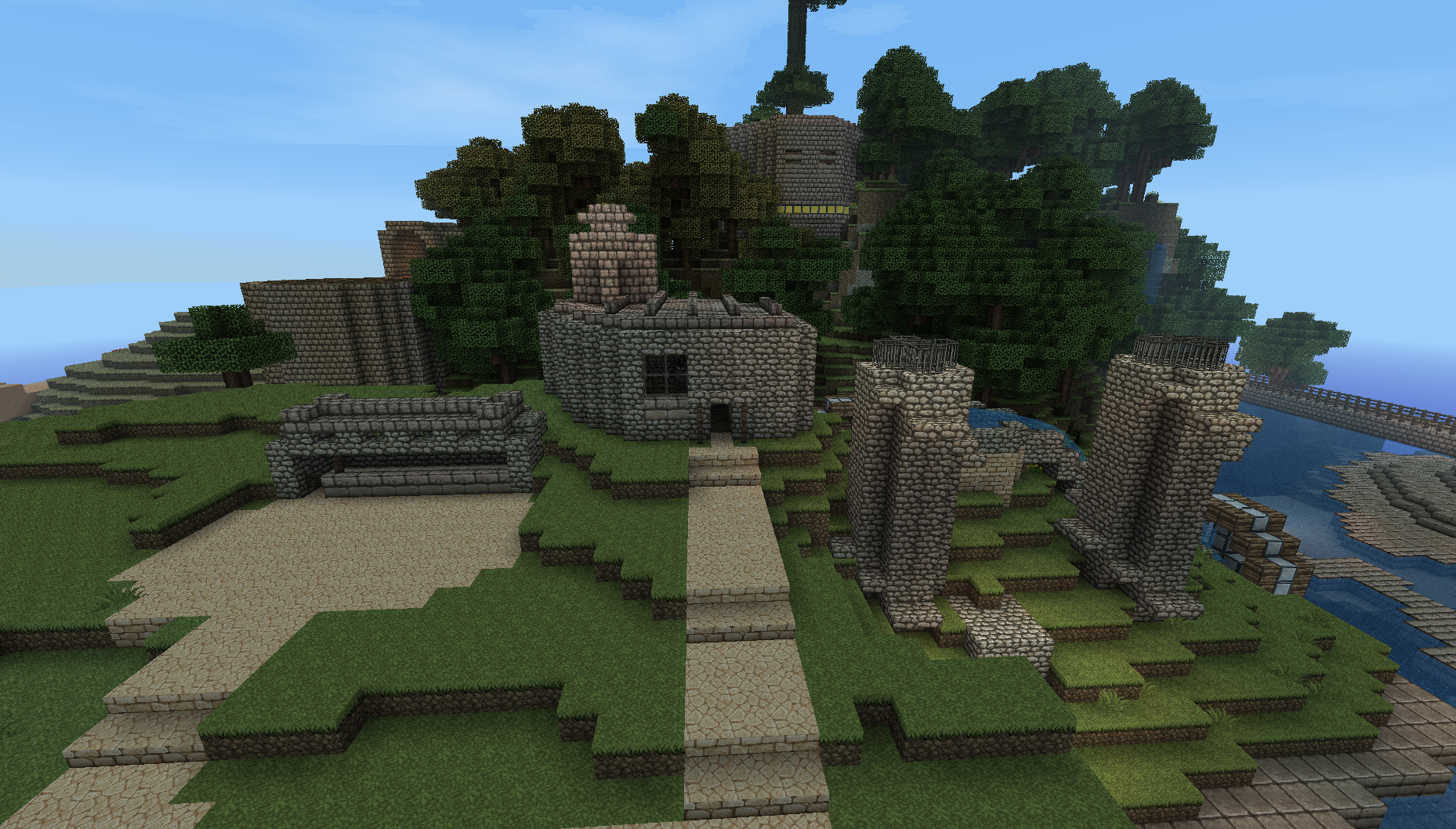 Little build I did on my old server I had up a few months ago.