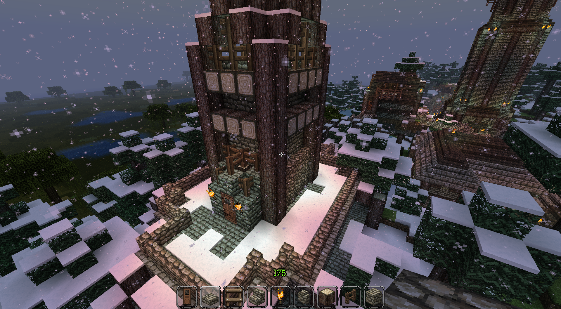Part of a city build I was doing with two other buds.
