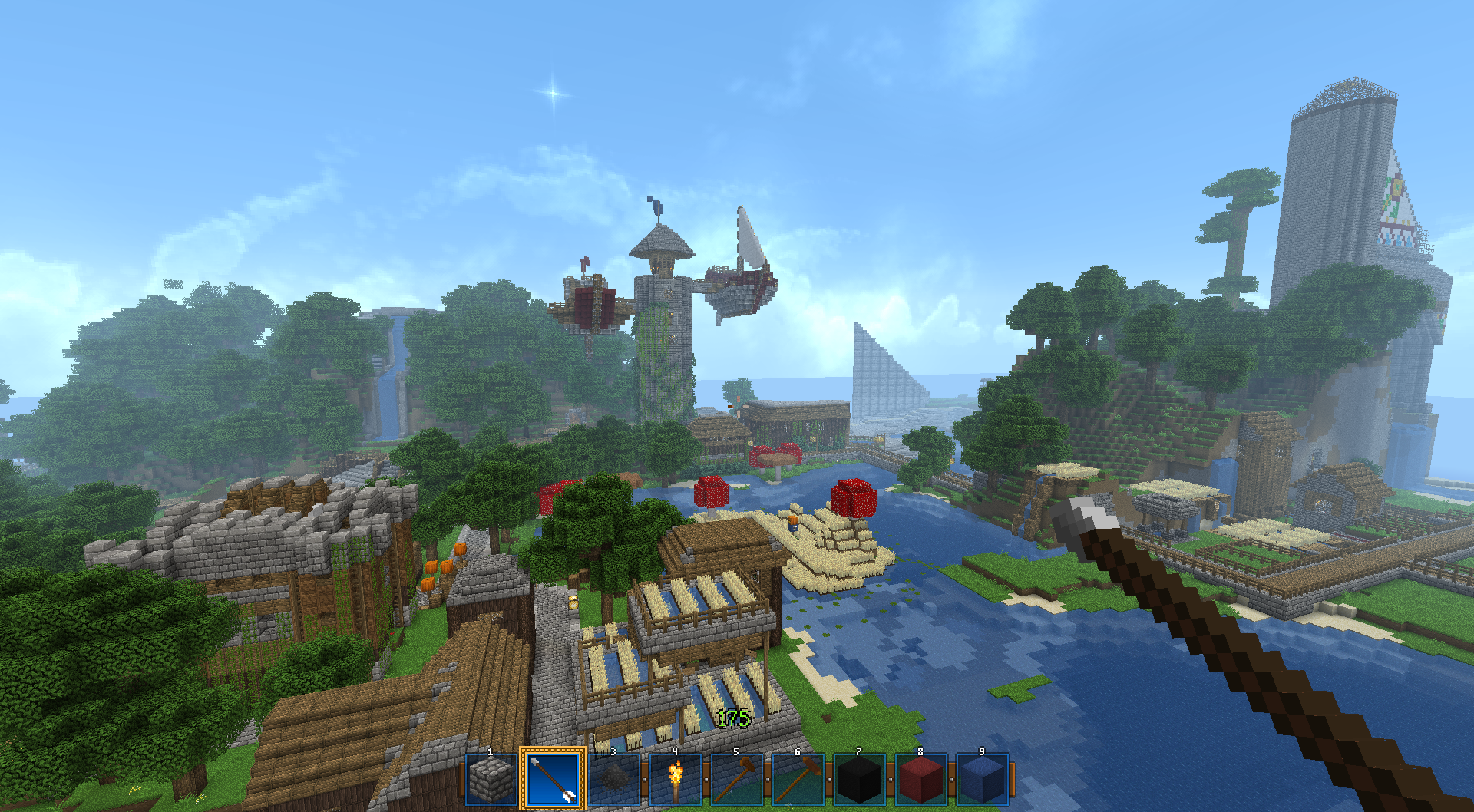 The old server.  Still got the map, just need to bring it up to 1.7.2.
