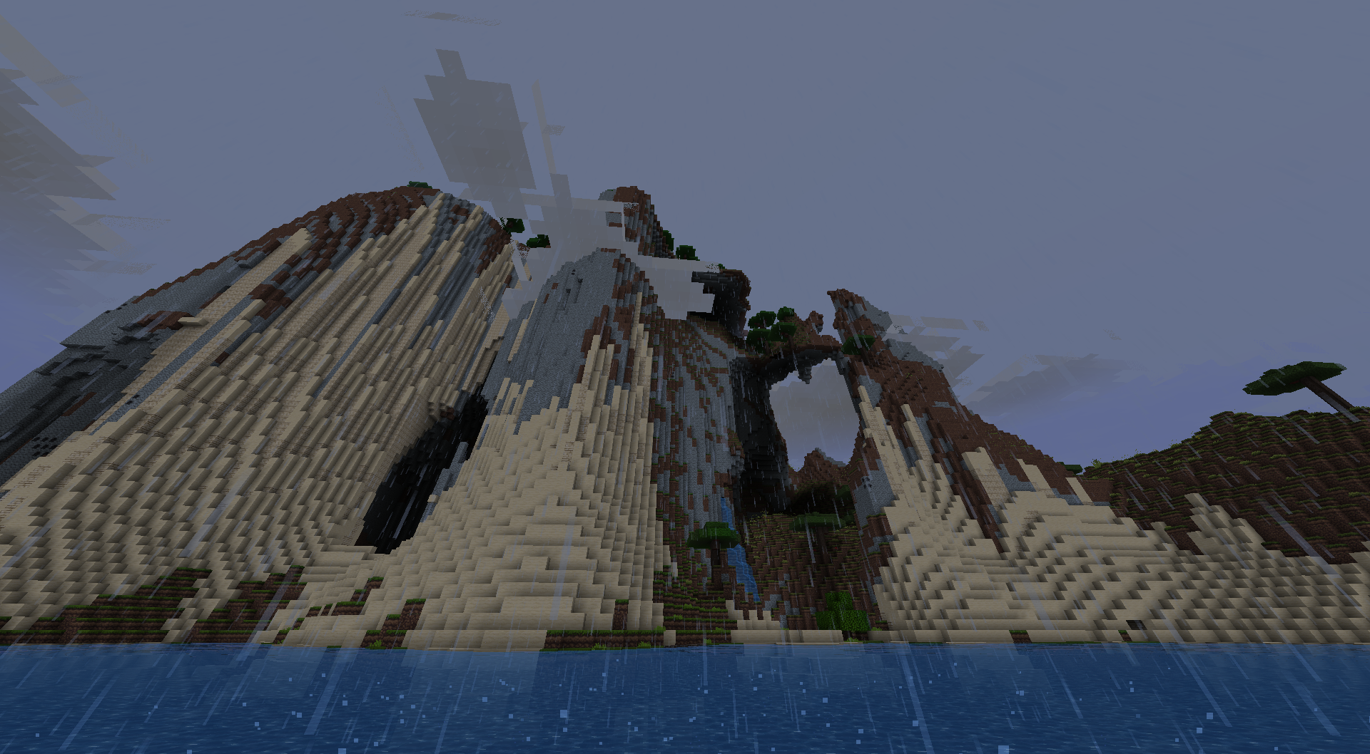 Land formation I found on someone's else server.