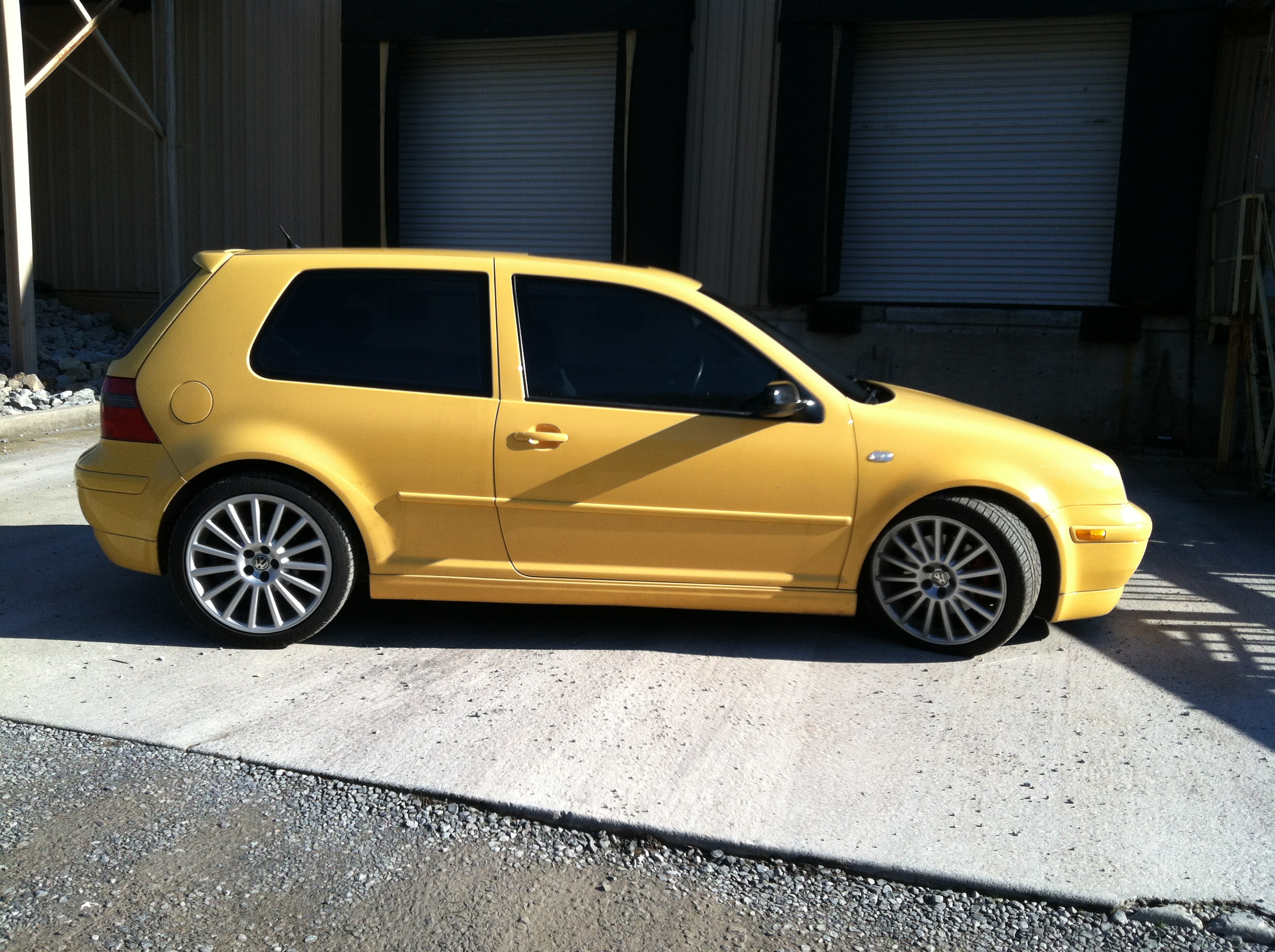 My super awesome 2003 VW GTI 20th anniversary edition.
