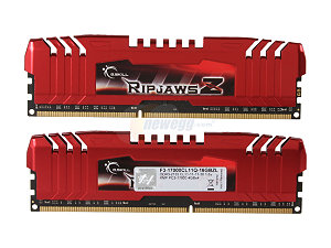 G.SKILL Ripjaws Z Series 16GB (4 x 4GB) 240-Pin DDR3 SDRAM DDR3 2133 (PC3 17000) Desktop Memory