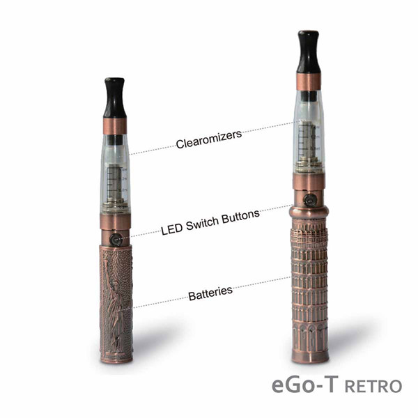 Hot sale ego ce4 electronic cigarette liberty statue battery e-cigarette e cig suppliers china.