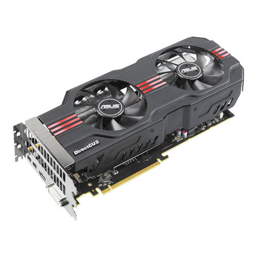 Asus Radeon HD 7950 HD7950-DC2T-3GD5 Video Card