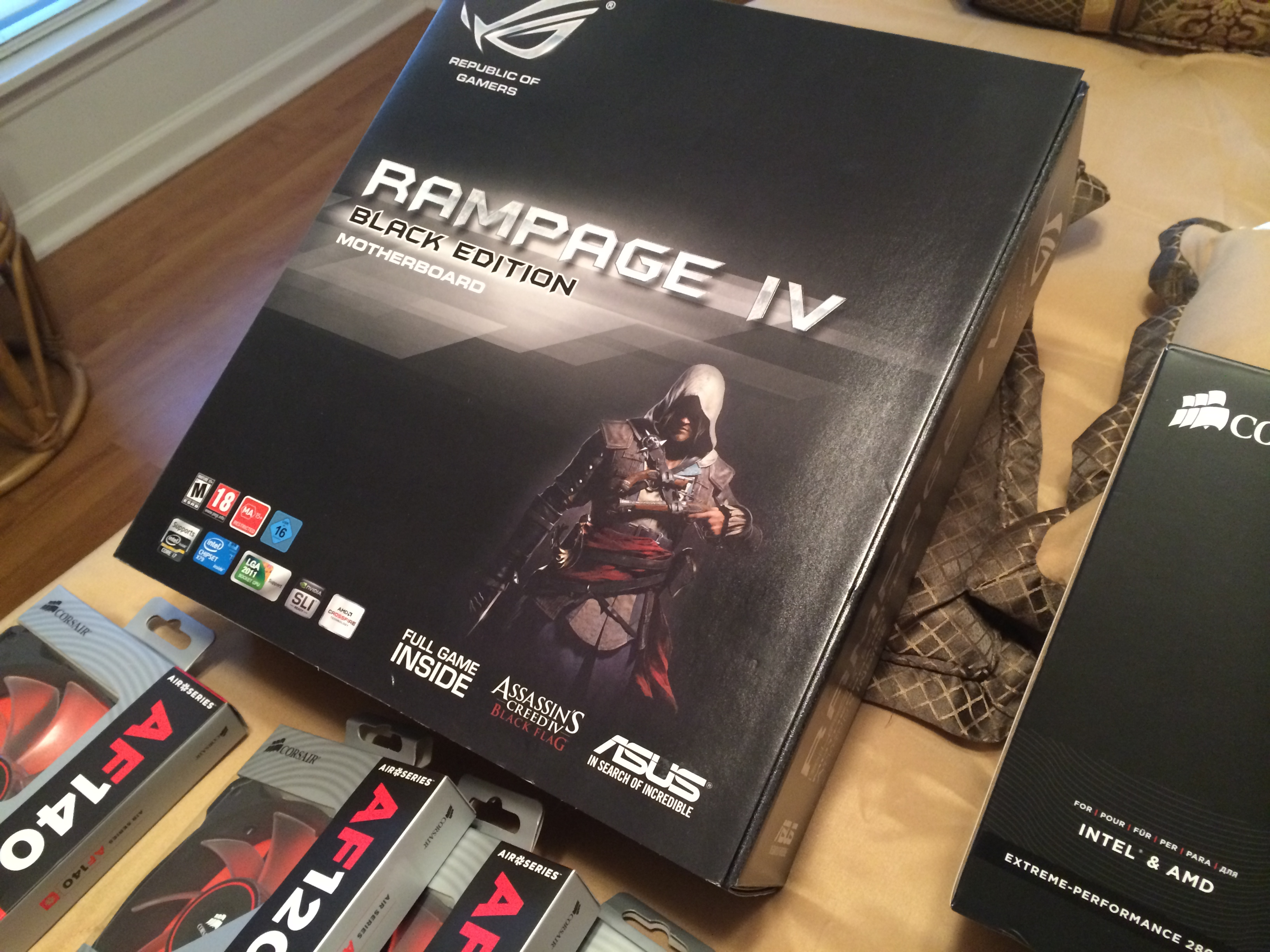 Asus Rampage IV Black Edition