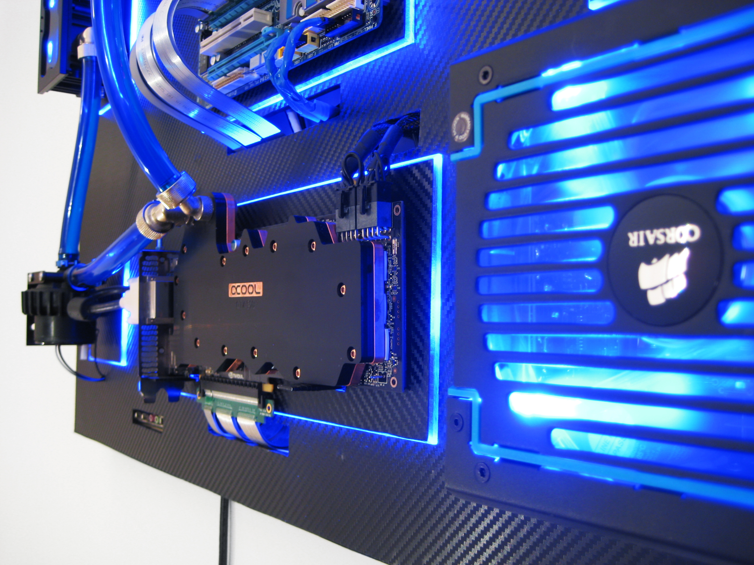 Wall Mounted Water Cooled Pc The Recoilmachine H Ard