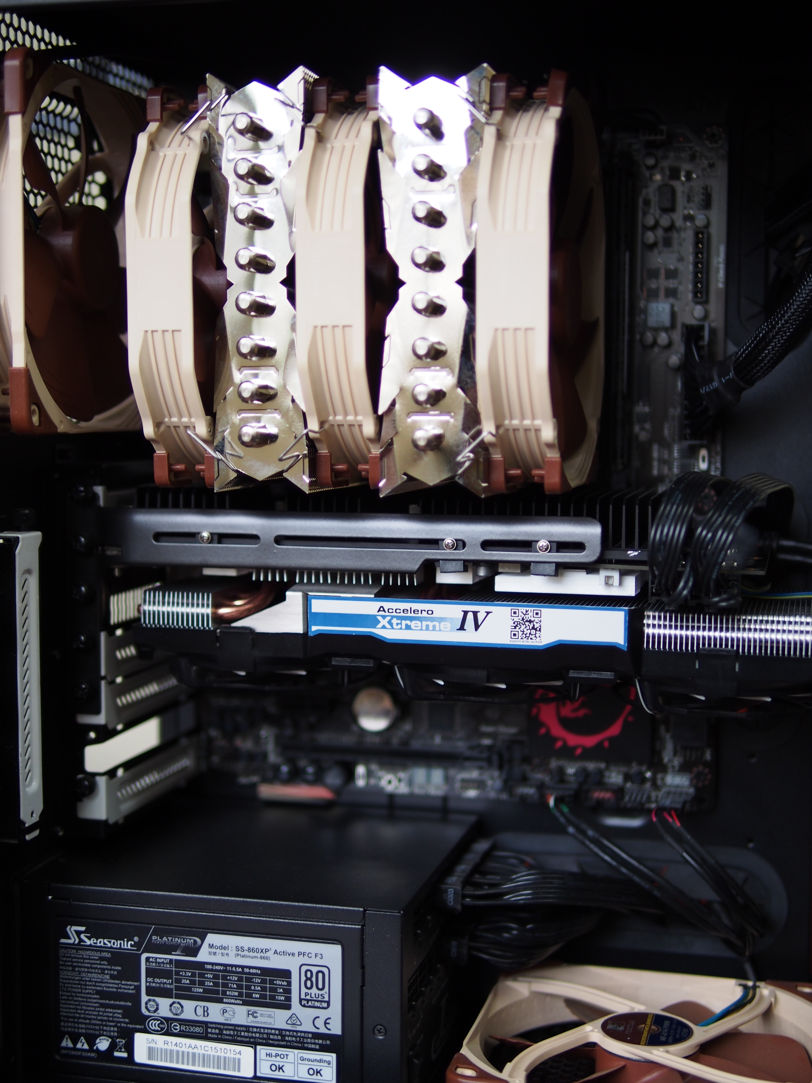 Arctic Cooling Accelero Extreme III installation on GTX780