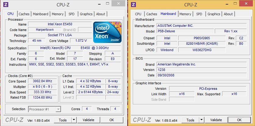 MOD] LGA775 Support For LGA771 Xeon CPUs - Page 358