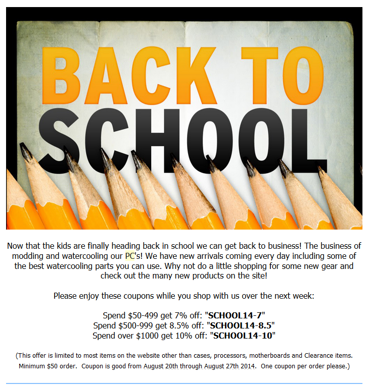 PPCs 2014 back-to-school sale