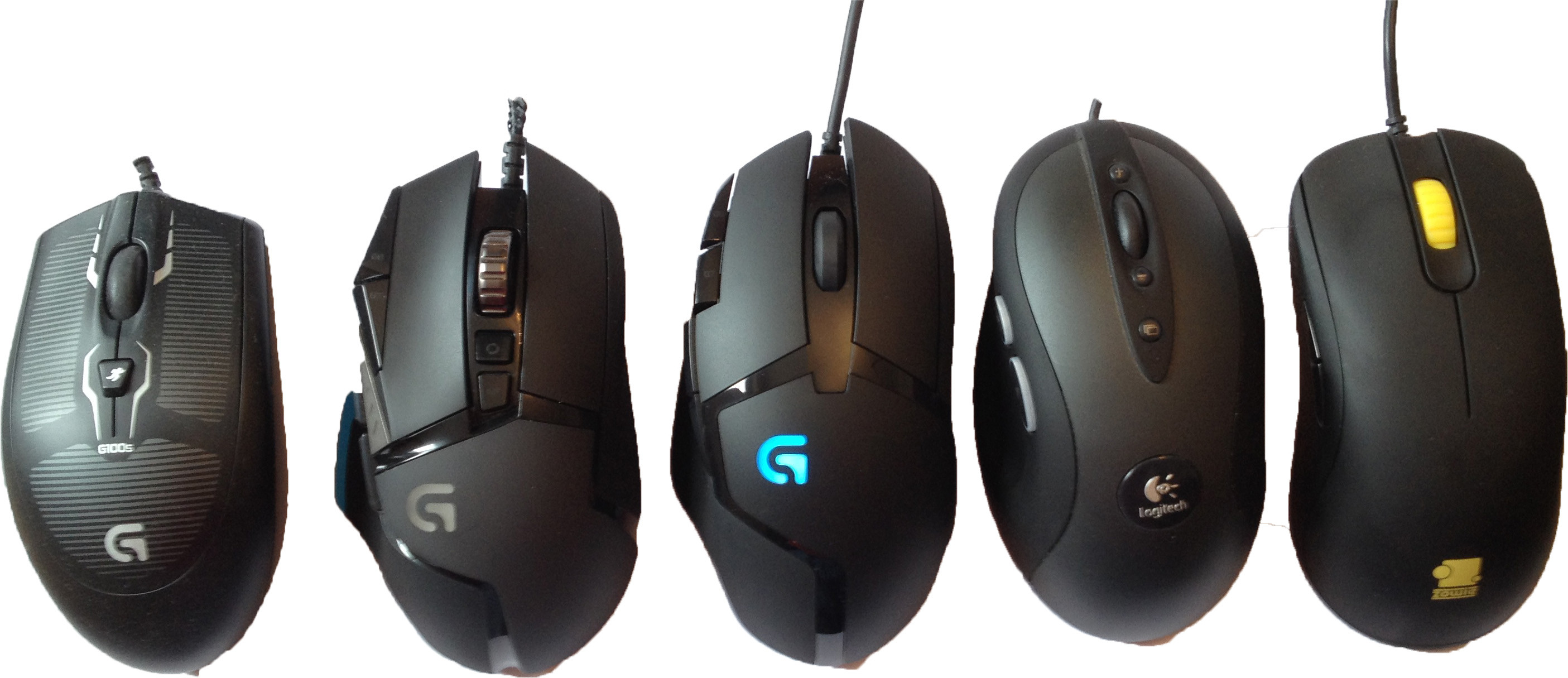 Logitech G402 Hyperion Fury Gaming Mouse review - by Ino