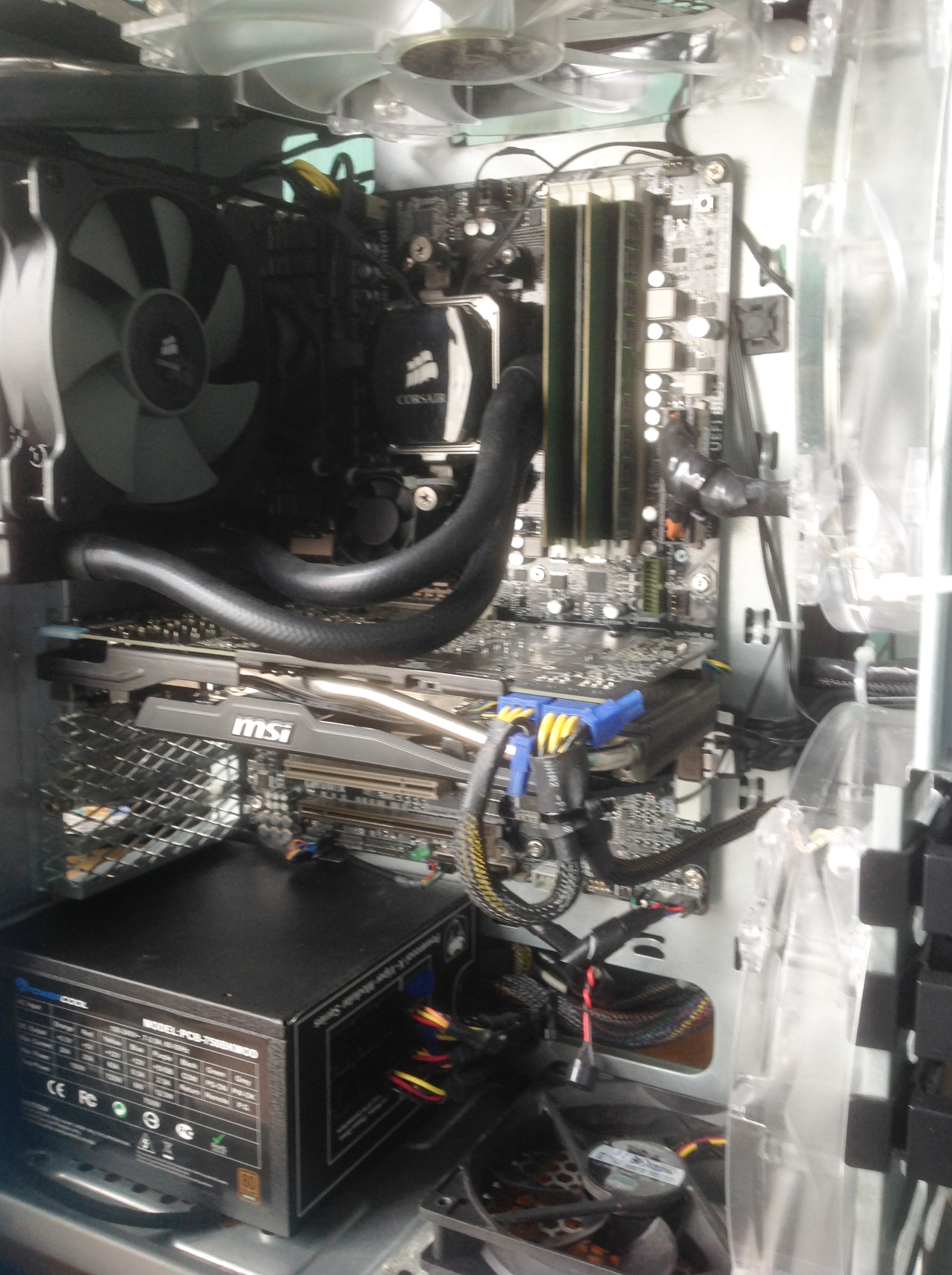 Saberkitty upgrade including MSI R9 270