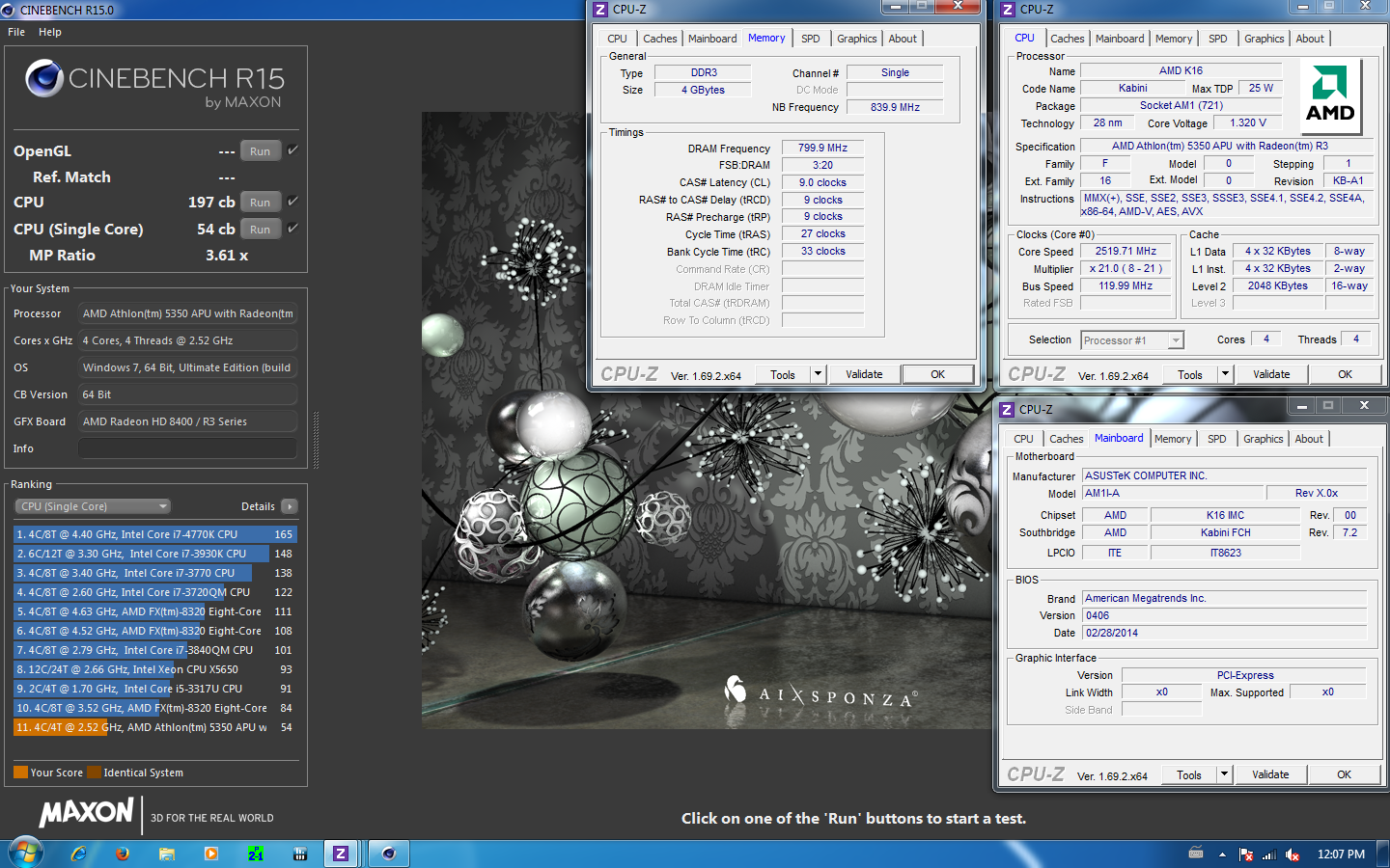 Amd Athlon 5350 With Radeon R3 overclock - an overclocking community - view single post