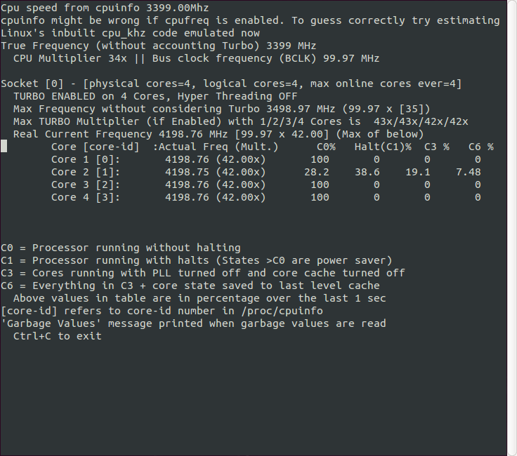 Overclocking your cpu and Linux  - Page 2 - Overclock net - An
