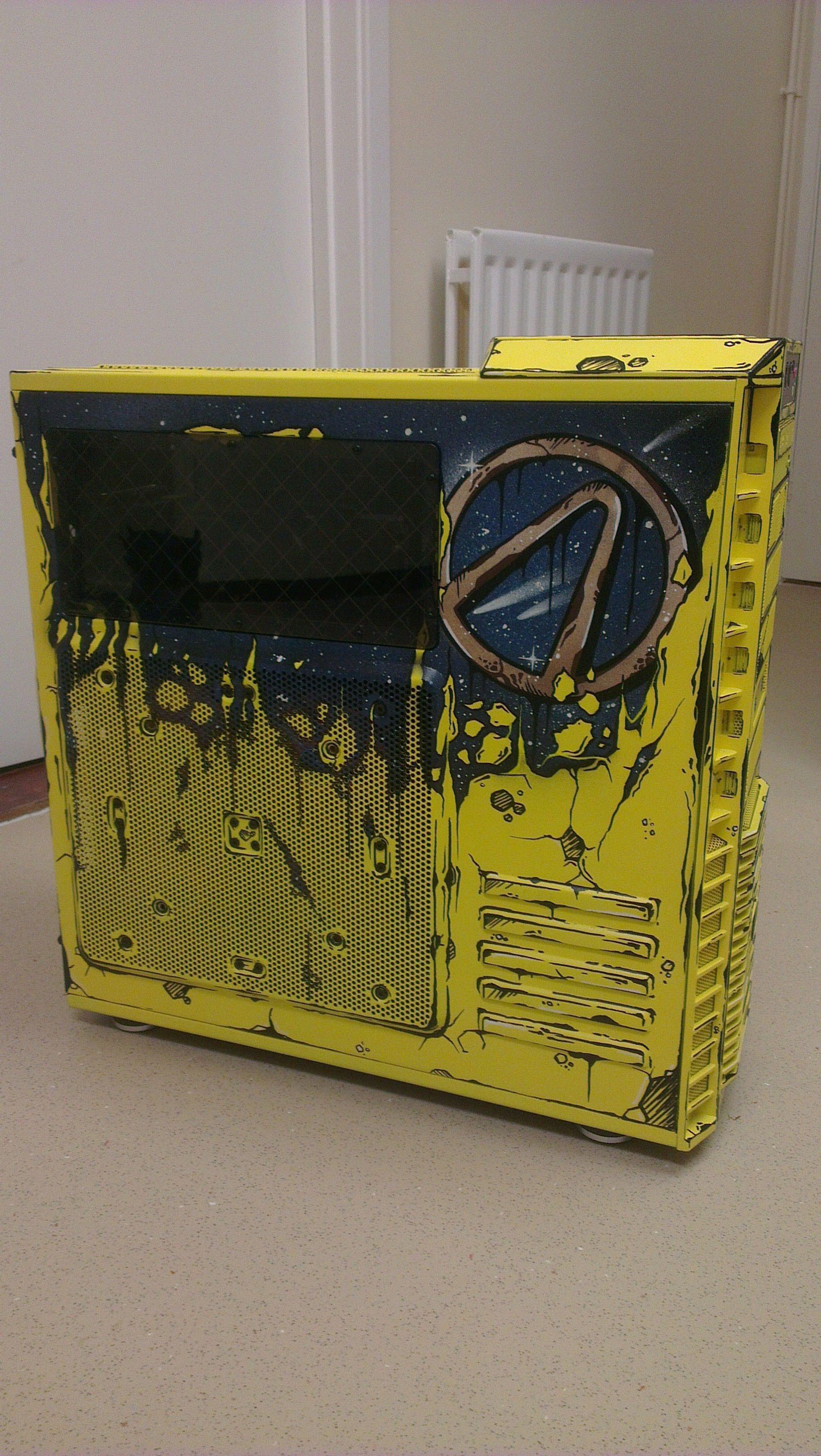 Custom Borderlands Gaming Rig