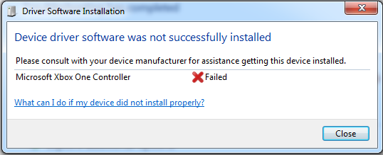 i have tried to install it s drivers manually but still i get that error message