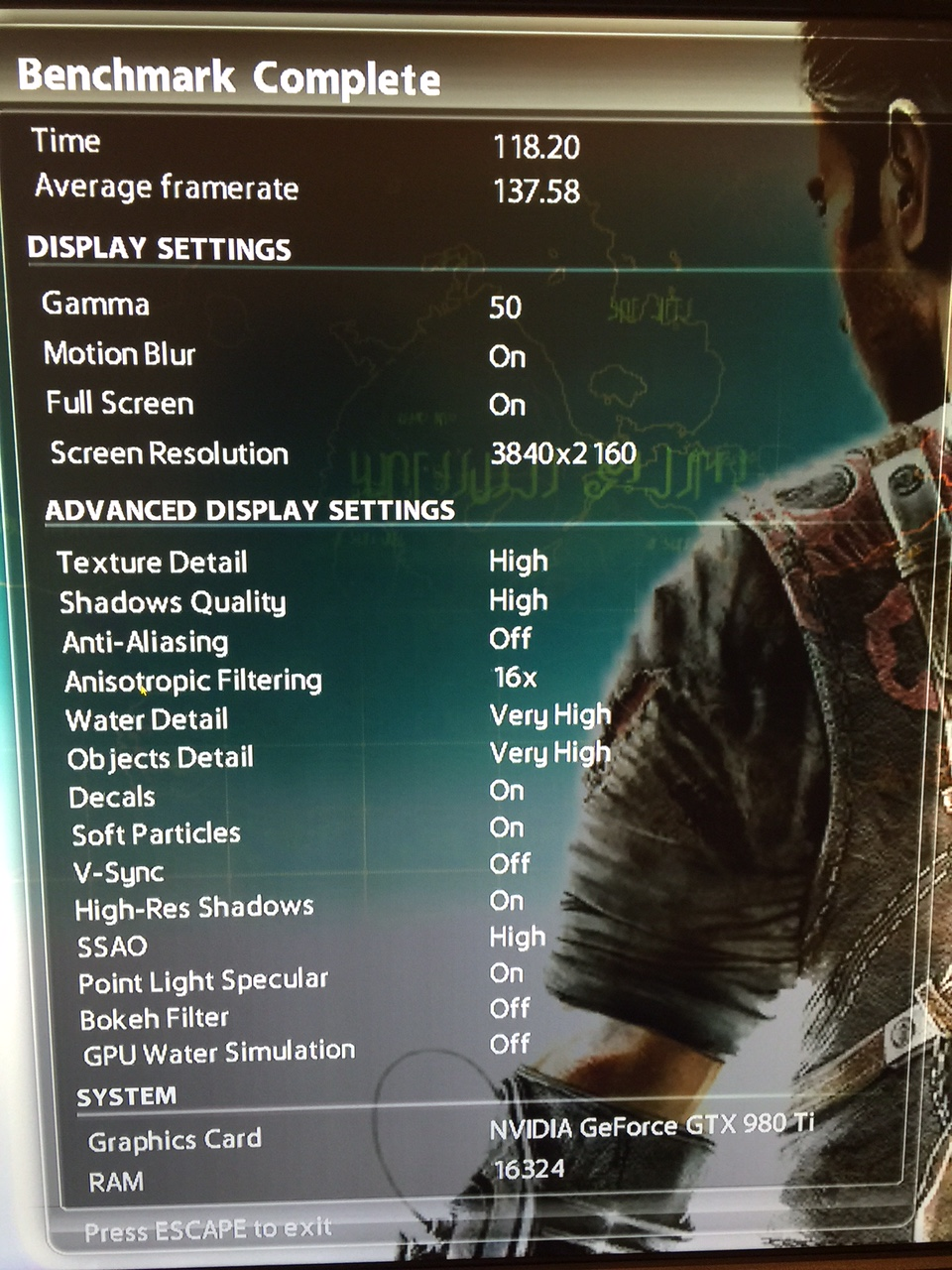 MSI 980 Ti Gaming 6G Card overclocks and pictures