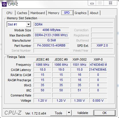 Confirm DDR4 speed after OC with XMP profile   - Overclock net - An