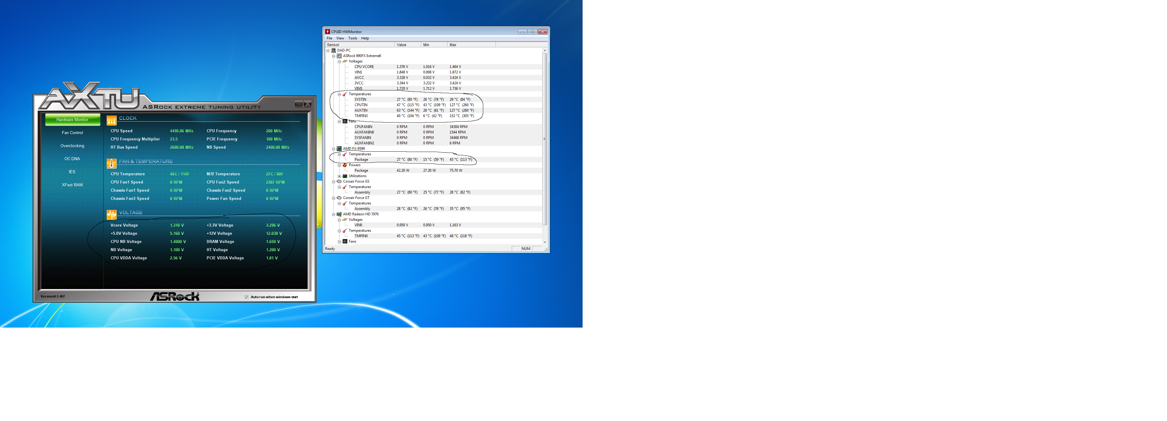 CPUID HWMonitor temps are HIGH - Overclock net - An Overclocking