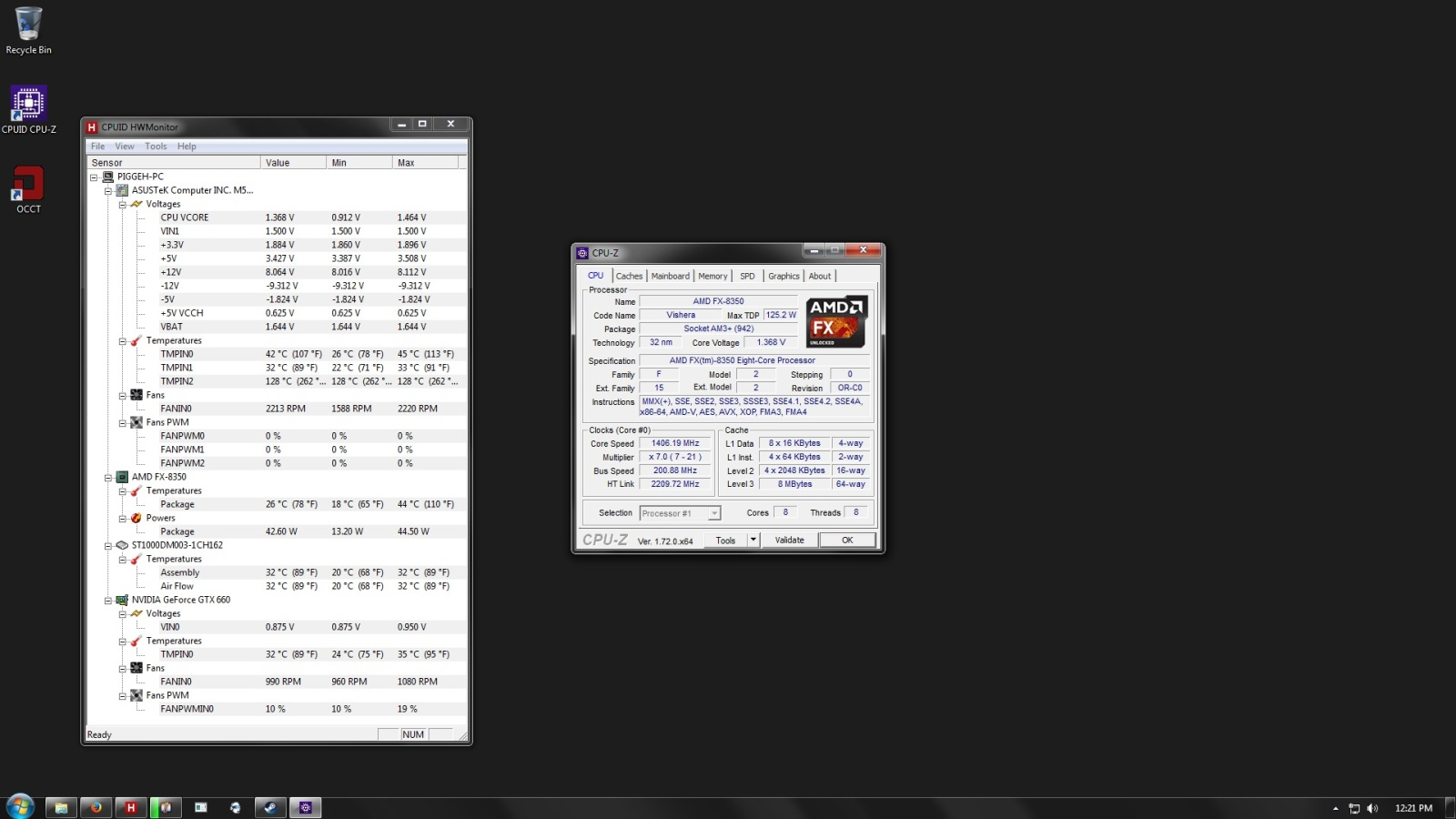 AMD CPU throttling  FX8350 [How to underclock and or